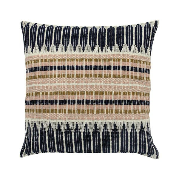 CUSHION AZTEC WEAVE MULTICOLOUR (43X43) - HK LIVING