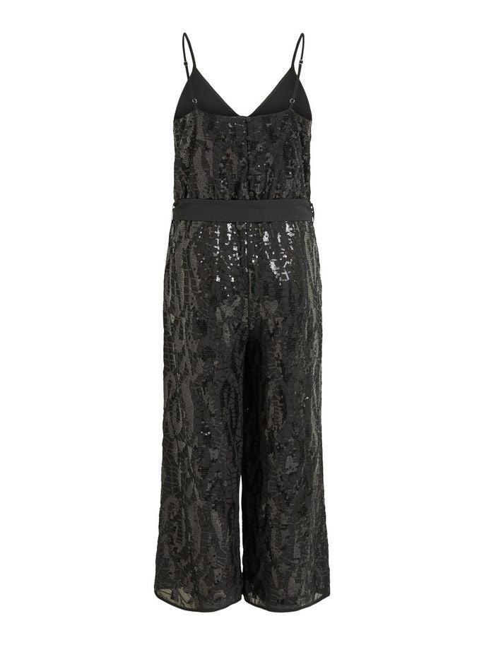 SEQUIN JUMPSUIT OBJARIANA | BLACK | OBJECT