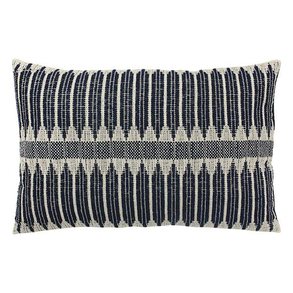 CUSHION AZTEC WEAVE BLACK/WHITE (40x60)