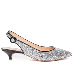 HERMINE | SILVER | MOROBE SHOES