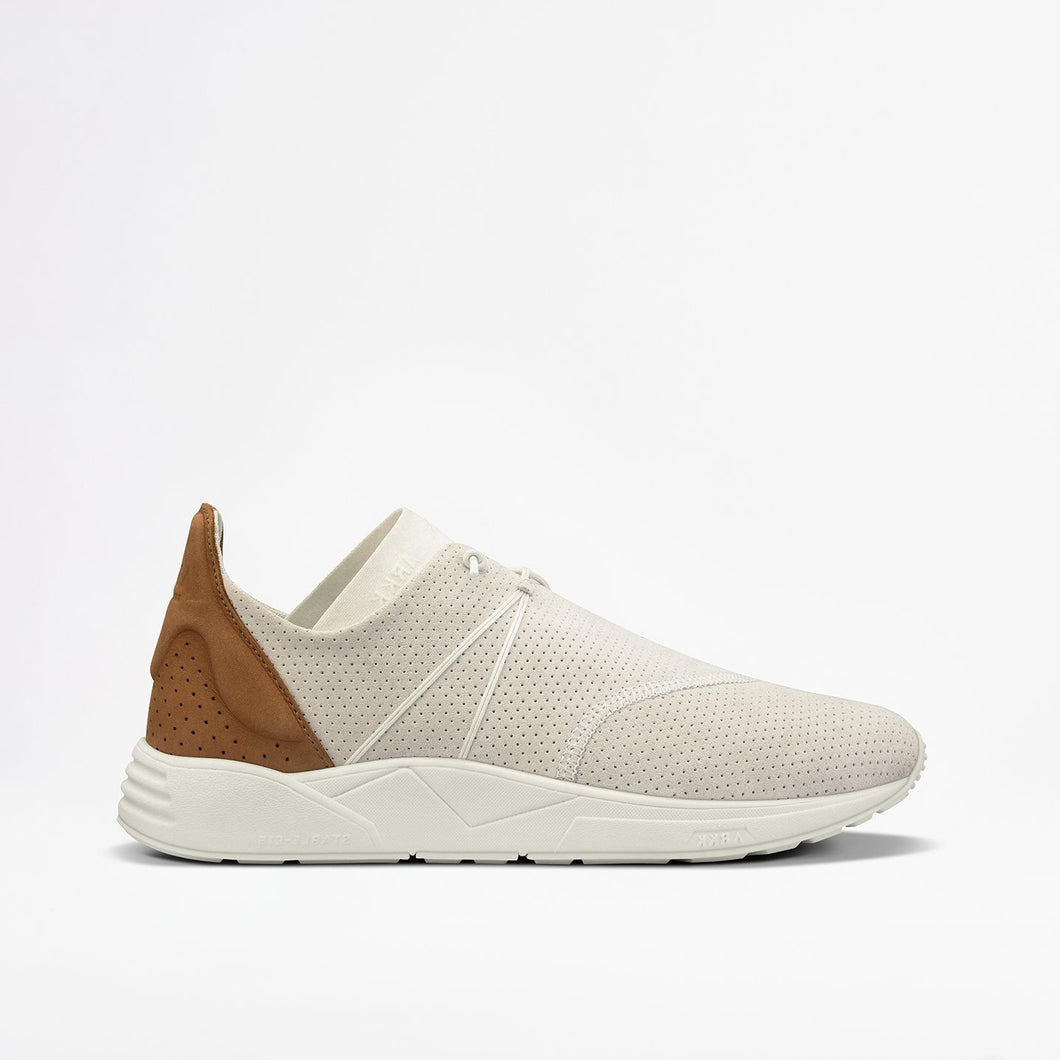 EAGLEZERO SUEDE S-E15 OFF WHITE BROWN - MEN - ARKK