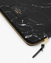 Load image into Gallery viewer, IPAD SLEEVE BLACK MARBLE | WOUF