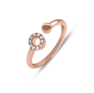 TWIN CIRCLE RING -  DIAMANTI PER TUTTI