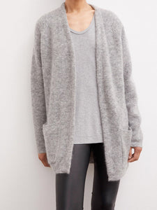BELINTA CARDIGAN | MED GREY | BY MALENE BIRGER