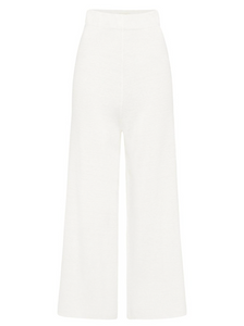 KNIT LOUNGE PANT | OFF WHITE