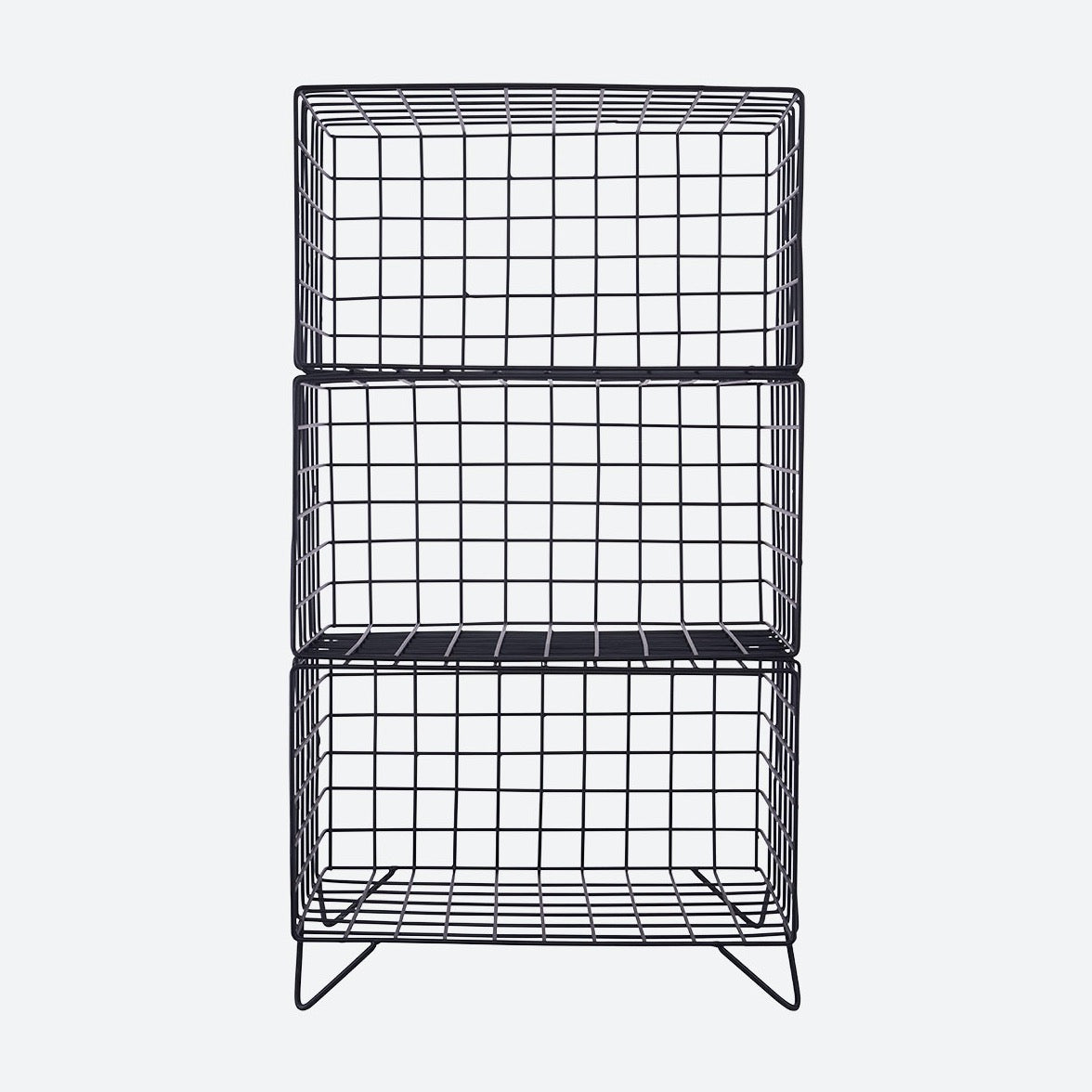 RACK 3 TIER | BLACK | HOUSE DOCTOR
