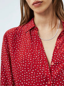 RITA PRINTED | RED | PEPE JEANS