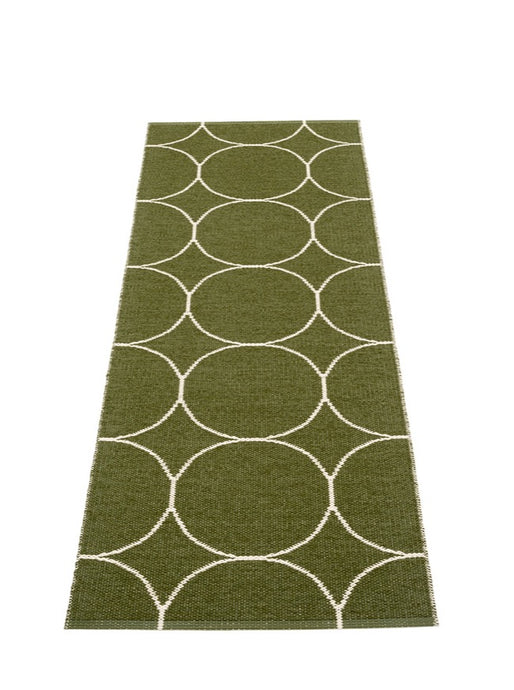 RUG BOO | DARK OLIVE | 70 x 200 | REVERSIBLE | PAPPELINA