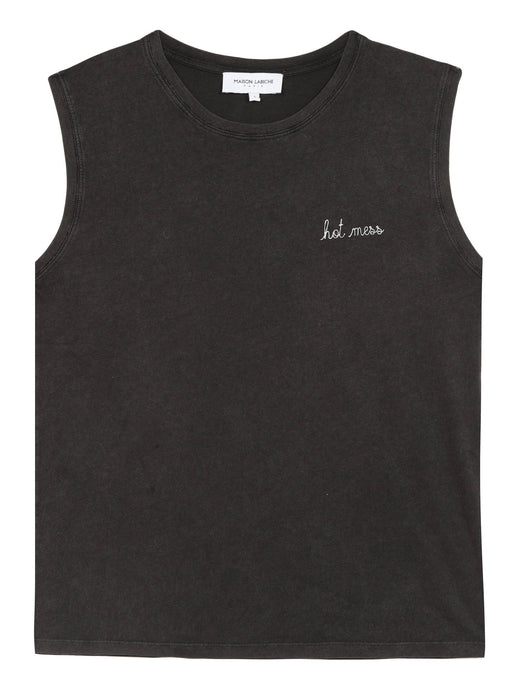 FEST TANK TOP HOT MESS | WASHED CARBON