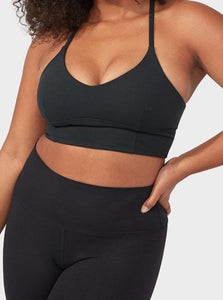 ESSENCE BRA | BLACK | MANDUKA