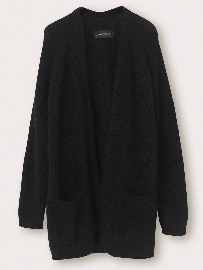 BELINTA CARDIGAN | BLACK | BY MALENE BIRGER