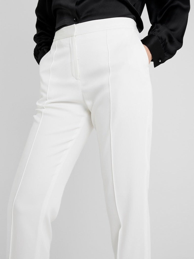 SANTSI PANTS | SOFT WHITE | BY MALENE BIRGER