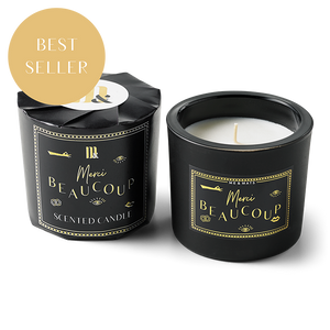 WRAPPED SCENTED CANDLE | MERCI BEAUCOUP | ME & MATS