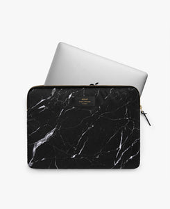 LAPTOP SLEEVE 13' BLACK MARBLE | WOUF
