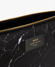 Load image into Gallery viewer, LAPTOP SLEEVE 13' BLACK MARBLE | WOUF