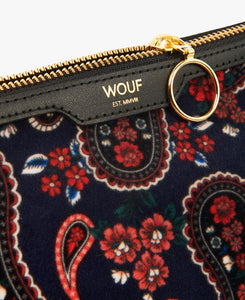 BEAUTY BLUE PAISLEY | WOUF