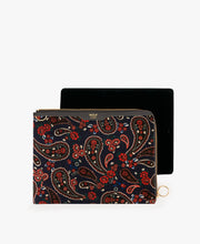 Load image into Gallery viewer, IPAD SLEEVE BLUE PAISLEY | WOUF