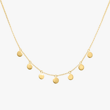 Load image into Gallery viewer, COIN NECKLACE | GOLD | WILDTHINGS