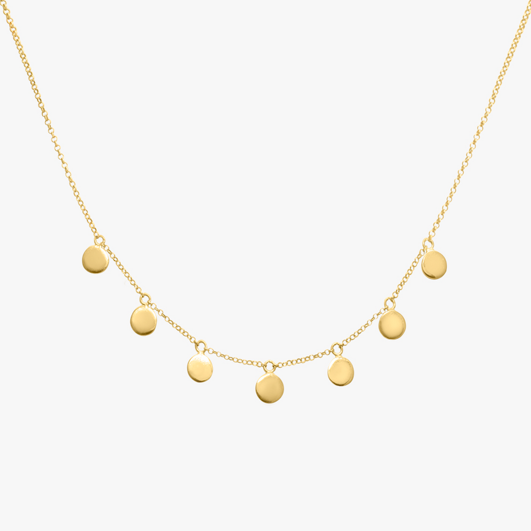 COIN NECKLACE GOLD | WILDTHINGS