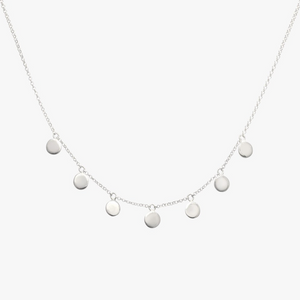 COIN NECKLACE SILVER | WILDTHINGS