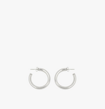 Load image into Gallery viewer, BIG HOOP EARRING SILVER | WILDTHINGS