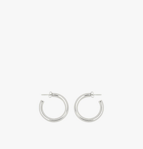 BIG HOOP EARRING SILVER | WILDTHINGS