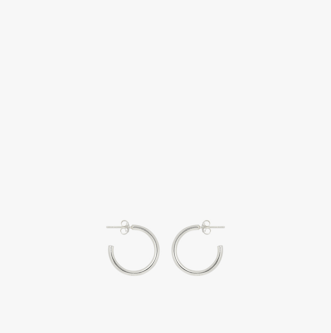 MEDIUM HOOP EARRING | SILVER | WILDTHINGS