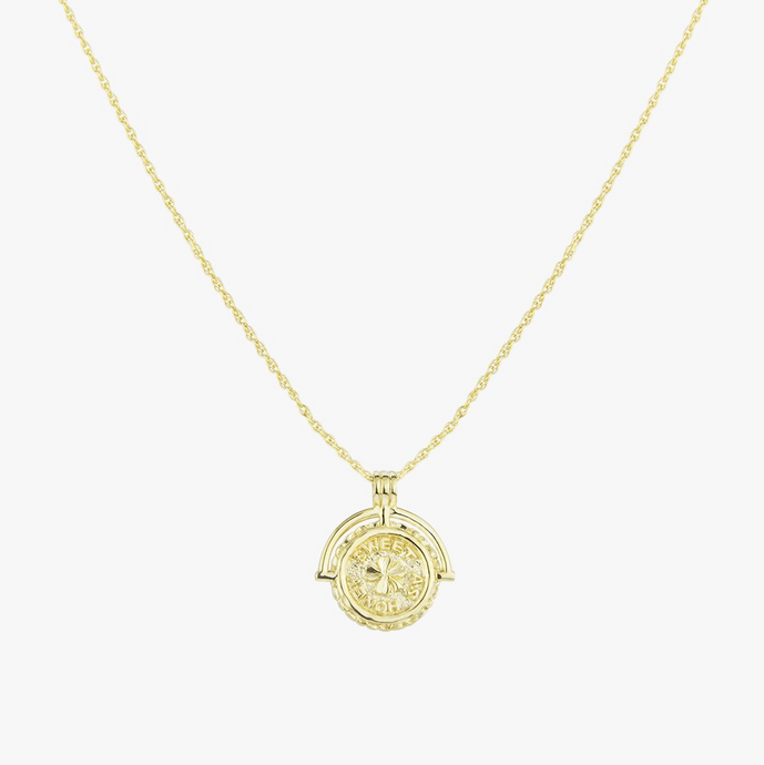 SWEET AS HONEY NECKLACE GOLD | NECKLACE