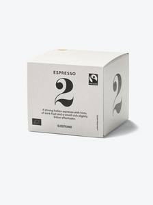 COFFEE CAPSULES ( 10 CAPS ) N°1 ESPRESSO | SJÖSTRAND COFFEE