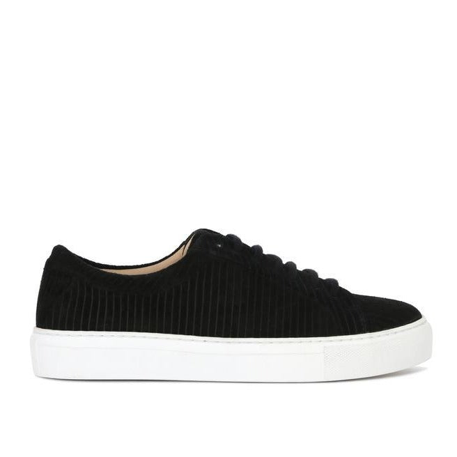 ELPIQUE SUEDE CORDUROY SHOE | BLACK | ROYAL REPUBLIQ