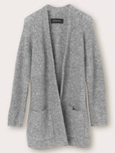 Load image into Gallery viewer, BELINTA CARDIGAN | MED GREY | BY MALENE BIRGER
