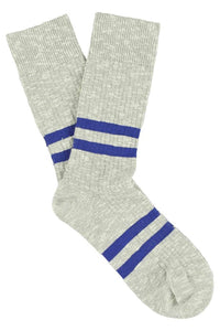 MELANGE SOCKS | GREY/BLUE | 39/45 | ESCUYER