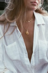COIN NECKLACE | GOLD | WILDTHINGS