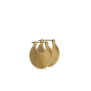 SMALL SHELL EARRING | GOLD