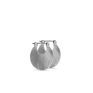 SMALL SHELL EARRING | SILVER