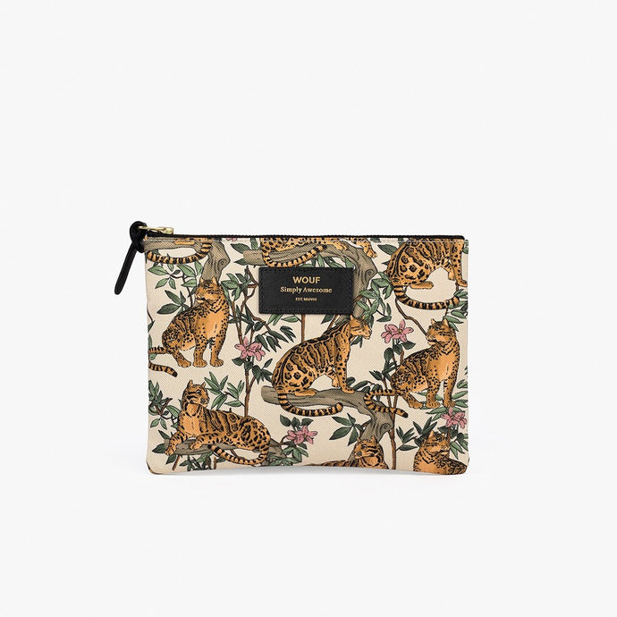 LARGE POUCH LAZY JUNGLE | WOUF