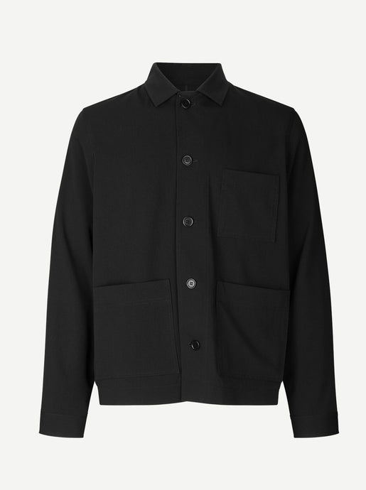 WORKER X JACKET| BLACK | SAMSOE