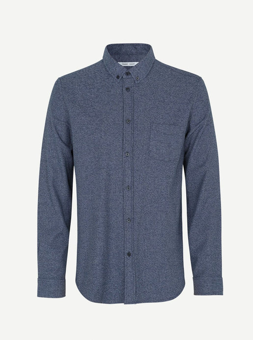 LIAM SHIRT | NIGHT SKY MEL | SAMSOE SAMSOE