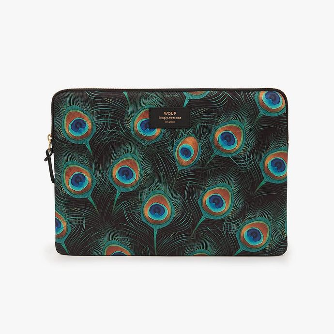 PEACOCK LAPTOP SLEEVE 13'' | WOUF