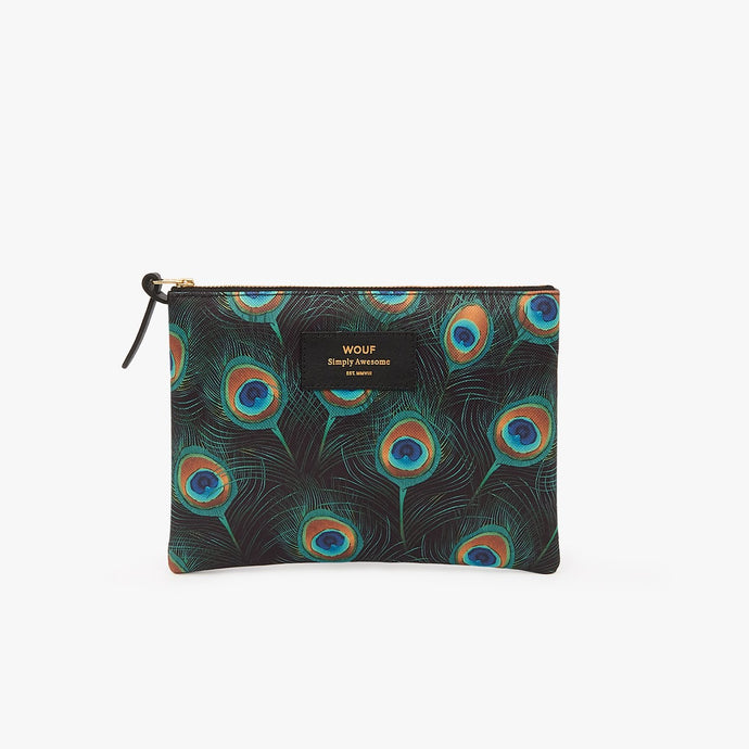 LARGE POUCH PEACOCK | WOUF