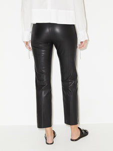 FLORENTINA LEATHER PANT | BLACK | BY MALENE BIRGER