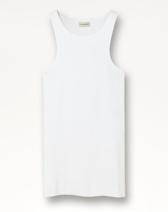AMIEE TANK TOP | PURE WHITE | BY MALENE BIRGER