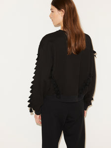 TUYA SWEATER | BLACK | BY MALENE BIRGER
