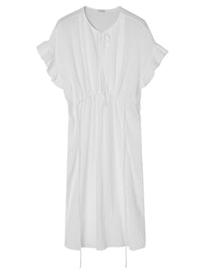 COTTEA DRESS | PURE WHITE | BY MALENE BIRGER