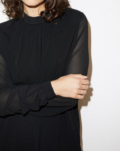 VINEUIL TOP | BLACK | BY MALENE BIRGER