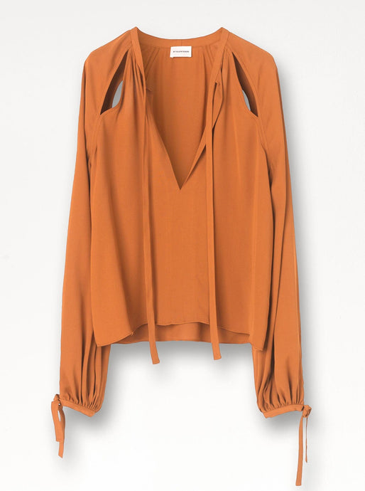 HENRYA TOP | BRICK | BY MALENE BIRGER