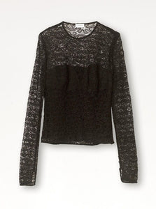 LAELIA TOP | BLACK | BY MALENE BIRGER