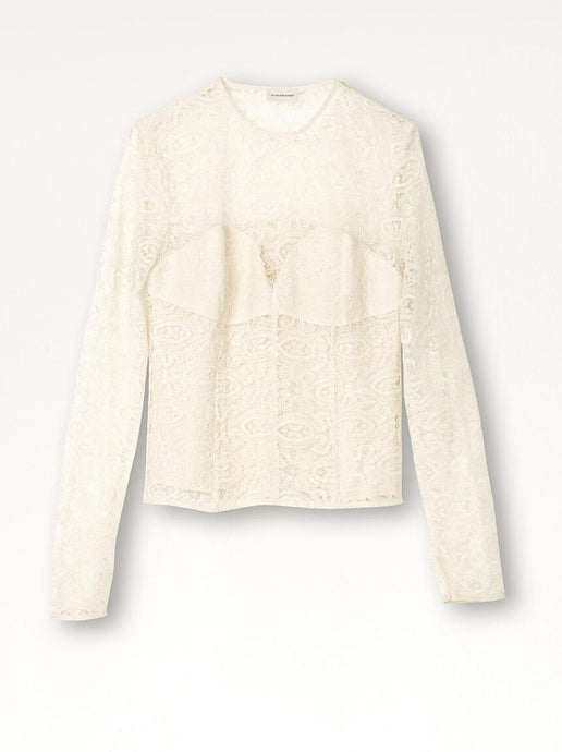 LAELIA TOP | CREAM SNOW | BY MALENE BIRGER
