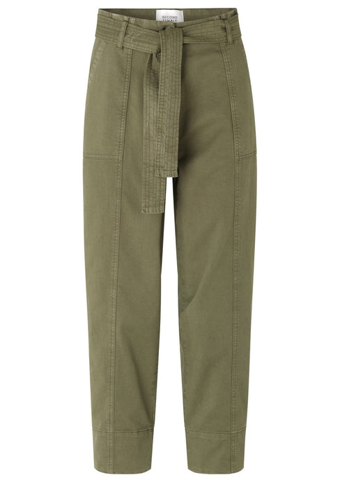 TERRY TROUSERS | OLIVE NIGHT