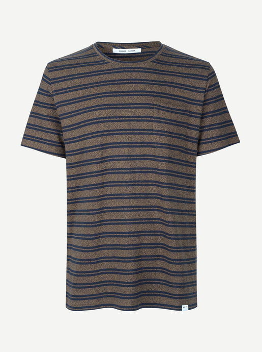 CARPO T-SHIRT | STRIPED KANGOUROU | SAMSOE SAMSOE